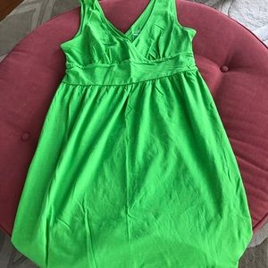 Fluorescent Green Old Navy Sleeveless Dress
